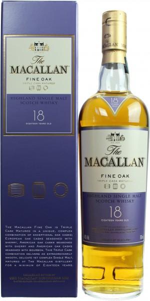 Macallan Fine Oak 18 Jahre