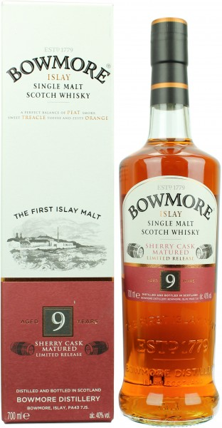 Bowmore 9 Jahre Sherry Cask