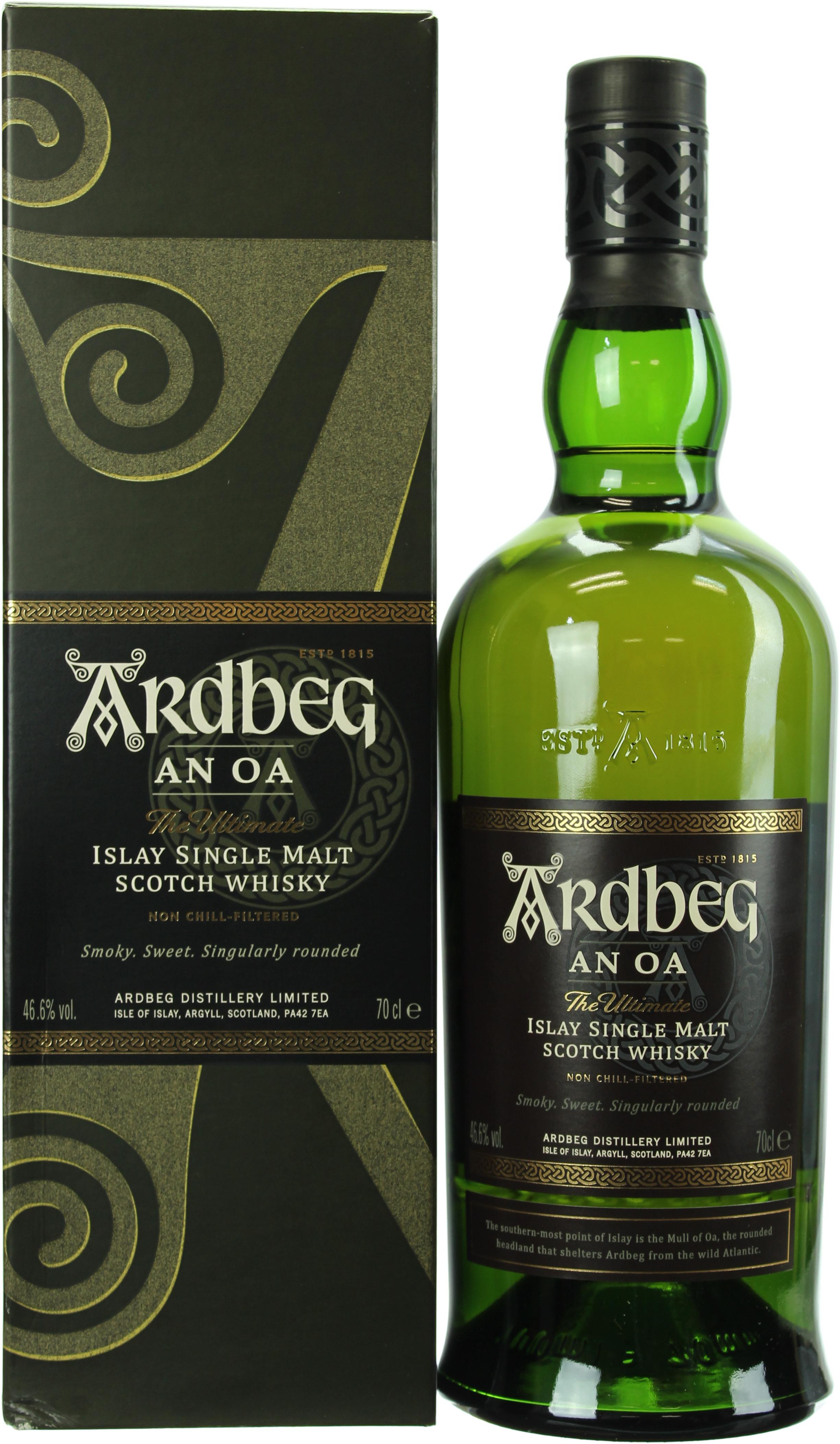Ardbeg An Oa 46.6% 0,7l   Whiskyzone.de