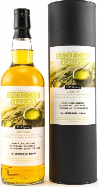Glen Spey 2007-2019 Single Cask Seasons Spring 2019