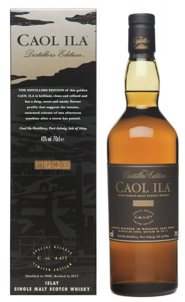 Caol Ila Distillers Edition 2006/2017 43.0% 0,7l