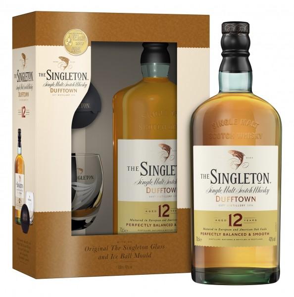 The Singleton of Dufftown 12 Jahre Geschenkset mit Glas