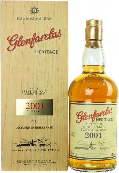 Glenfarclas Heritage Vintage 2001/2011 Sherry Cask