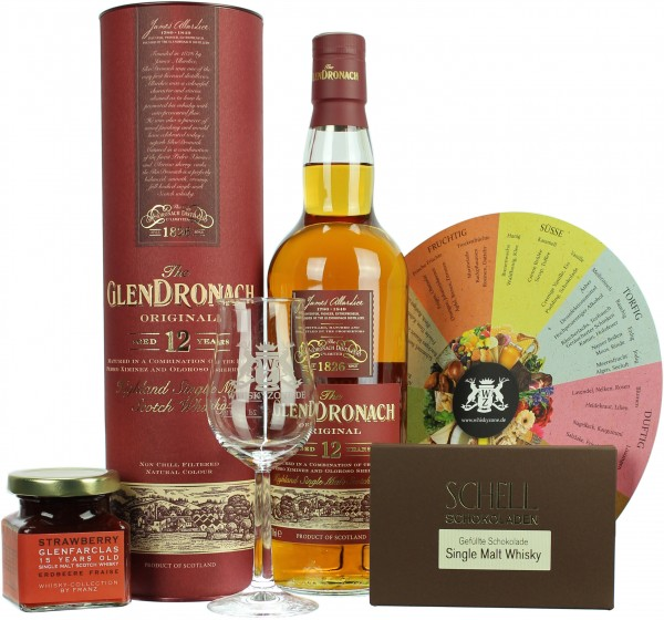 "Whisky Geschenkset ""Sherry-Note"""