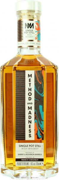 Method and Madness Single Pot Still 46.0% 0,7l
