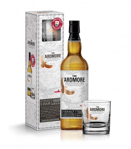 Ardmore Legacy Geschenkset mit einem Tumbler Glas