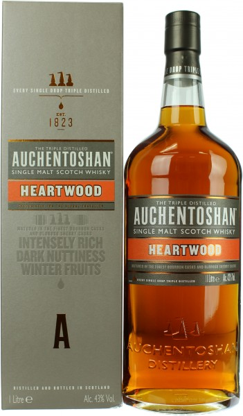 Auchentoshan Heartwood 43.0% 1 Liter