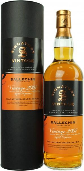 Ballechin 11 Jahre 2007/2018 Signatory Small Batch #2 48.1% 0,7l