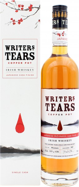 Writer's Tears Mizunara Single Cask Finish