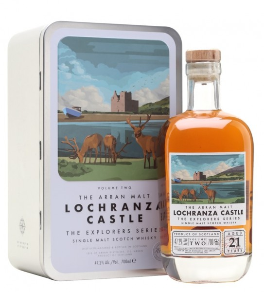 Arran 21 Jahre Lochranza Castle The Explorers Series #2