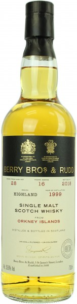 Orkney Islands Single Malt 1999/2018 Berry Bros. & Rudd 53.6% 0,7l