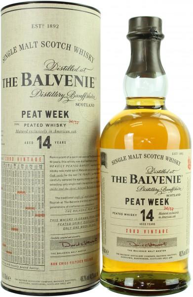 Balvenie Peat Week 14 Jahre 48.3% 0,7l