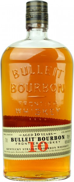 Bulleit Bourbon 10 Jahre 45.6% 0,7l