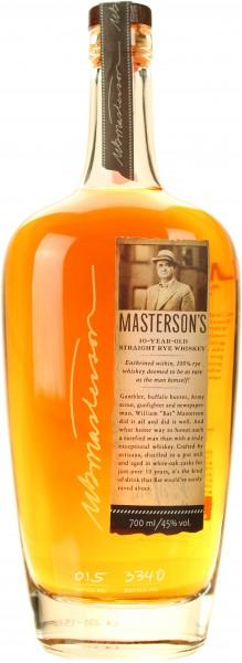 Masterson's Rye 10 Jahre (Kanada)