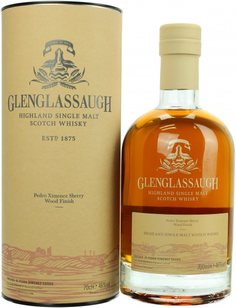 Glenglassaugh PX Sherry Wood Finish 2017