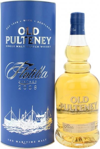 Old Pulteney Flotilla Vintage 2008