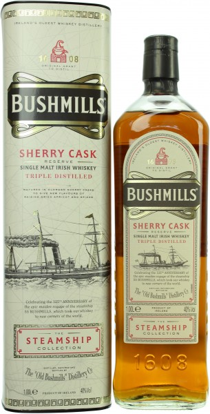 Bushmills Sherry Cask Reserve The Steamship Collection