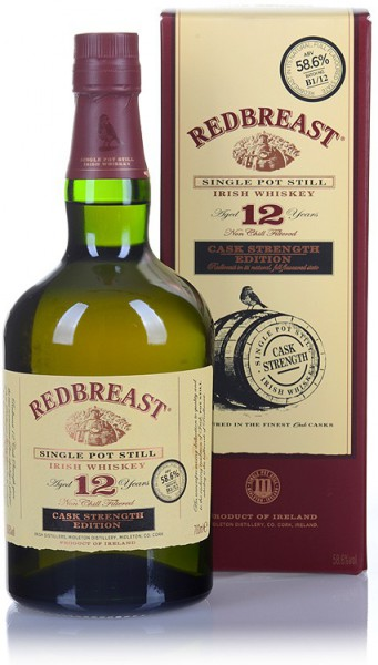 Redbreast Cask Strength 12 Jahre 56.2% 0,7l