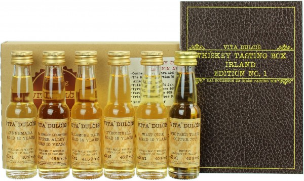 "Whisky Tasting-Box ""Irland"" 42,22% 6x20ml"
