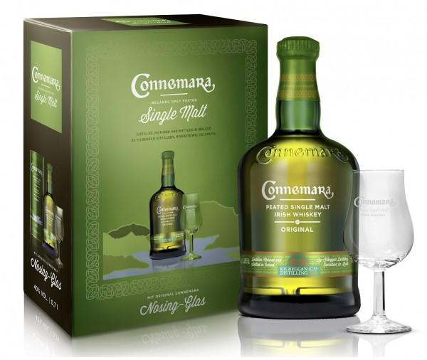 Connemara Peated mit Nosing Glas