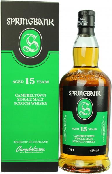 Springbank 15 Jahre 46.0% 0,7l
