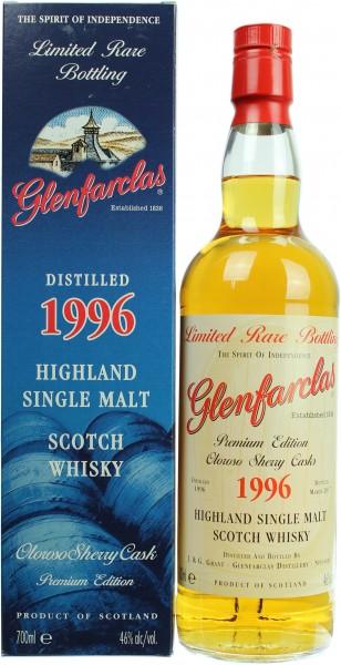 Glenfarclas Oloroso Sherry Cask 1996/2017 46.0% 0,7