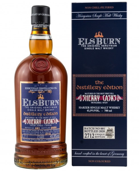 Elsburn Distillery Edition 2020 Batch 1