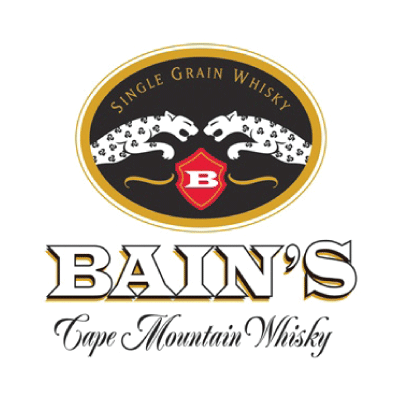 Image result for bains distillery logo