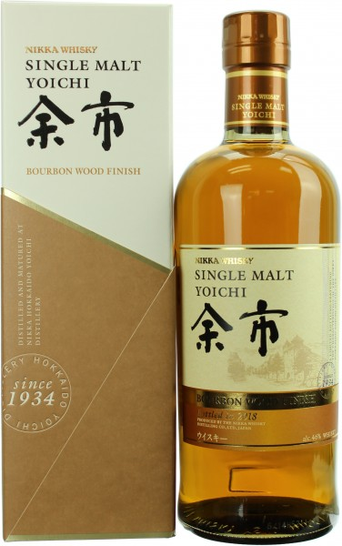 Nikka Yoichi Bourbon Finish 2018 (Japan)  46.0% 0,7l