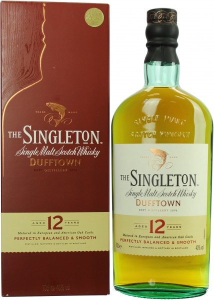 The Singleton of Dufftown 12 Jahre 40.0% 0,7l