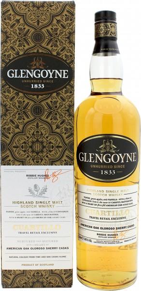Glengoyne Cuartillo American Oak Oloroso Sherry Cask