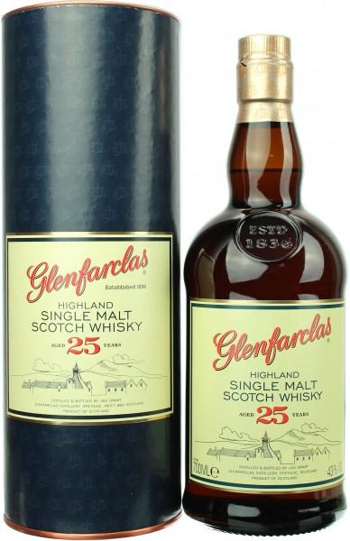 Glenfarclas 25 Jahre 43.0% 0,7l