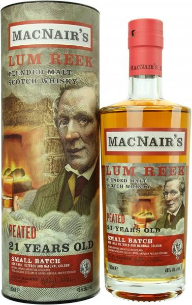 MacNair's Lum Reek 21 Jahre Peated 46.0% 0,7l