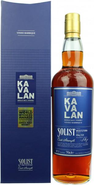 Kavalan Solist Vinho Barrique (Taiwan) 57.1% 0,7l