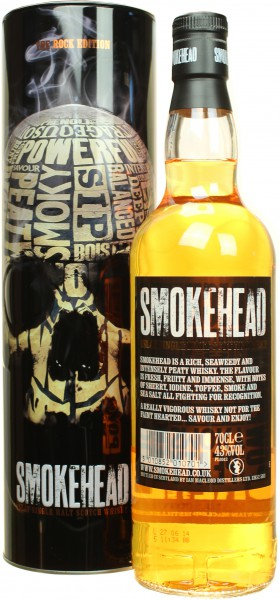 Smokehead - Rock Edition 43.0% 0,7l
