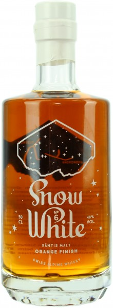 Säntis Snow White VI Orange Finish (Schweiz) 2018 48.0% 0,5l