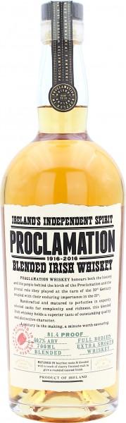 Proclamation Blended Irish Whiske