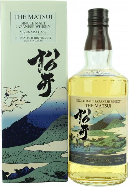 Matsui Single Malt Mizunara Cask 48.0% 0,7l