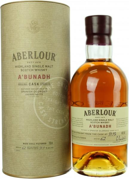 Aberlour a'bunadh 59,9% 0,7l