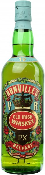 Dunville's Very Rare 10 Jahre PX Cask 46% 0,7l