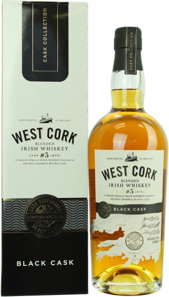 West Cork Black Cask 40.0% 0,7l
