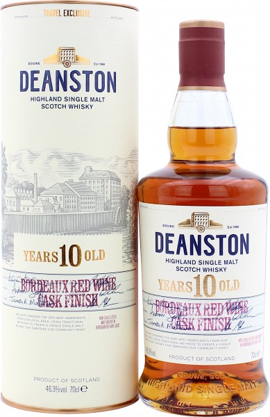 Deanston 10 Jahre Bordeaux Red Wine Cask