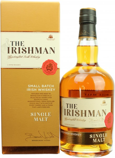 The Irishman Single Malt Whiskey