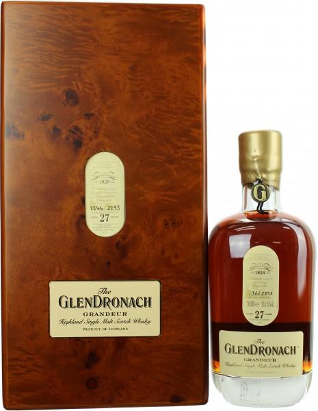 Glendronach Grandeur 27 Jahre Batch #10 50.1% 0,7l