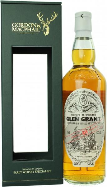 Glen Grant 40 Jahre G&M 43.0% 0,7l