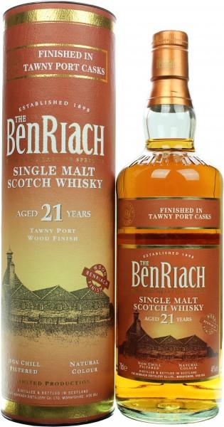 Benriach Tawny Port Finish 21 Jahre