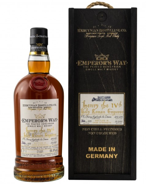 Emperor's Way Henry The IV 2nd Release PX Sherry Cask 56.9% 0,7l