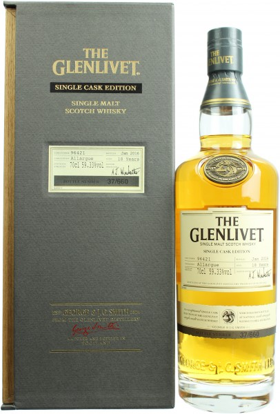 Glenlivet Allargue 18J-/2016 Single Cask