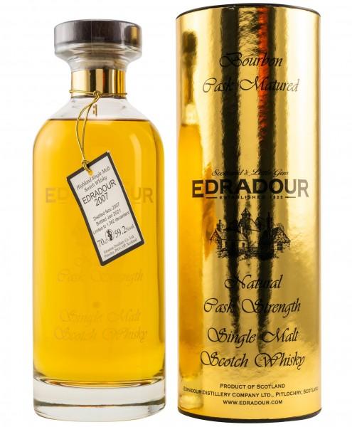 Edradour 13 Jahre Decanter Bourbon Cask 2007/2021 59.2% 0,7l