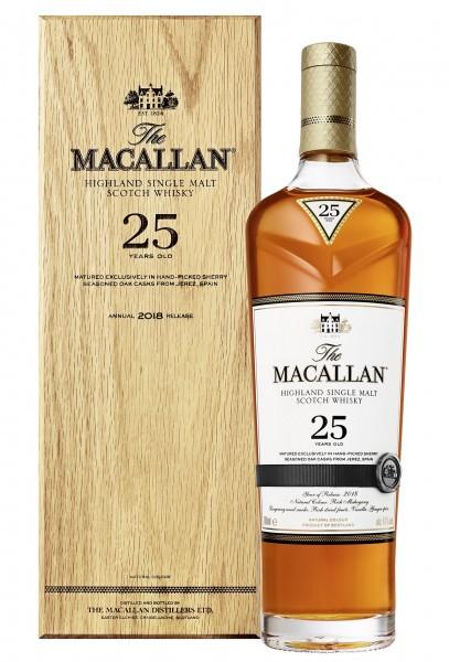 Macallan Sherryfass 25 Jahre 43.0% 0,7l